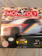 Monopoly NASCAR Nextel cup series collector's edition  - $19.99