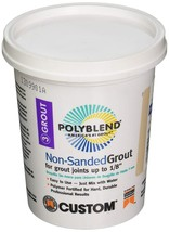 CUSTOM BLDG PRODUCTS NSG1221-4 Linen Non-Sanded Grout - $9.69