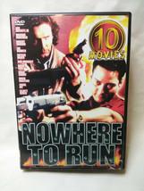 Nowhere To Run - 10 Movie Set DVD, 2002, 5-Disc Set  Michael York, Rober... - $3.96
