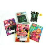 STAR TREK Mixed Lot 4 Star Trek T.V. Guides 2 Bookmarks and a Pencil  - $9.85