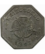 1917 10 Pfennig German Coin Lippe Handelskammer, Free State Notgeld (MO1... - $16.00