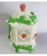 Strawberry Shortcake Vintage 1981 American Greetings Hard Plastic Gazebo  - $22.00