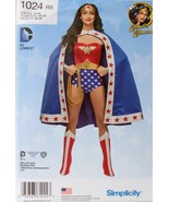 Simplicity. 1024 R5 WonderWoman Costume Sewing Pattern  Sizes 14-22 - $15.99