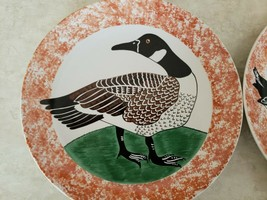 Sigma The Tastesetter Wild Ducks by Andrea West 4 Plates Pattern #1016 - $37.40
