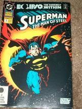 Superman: Man of Steel Annual #1 [Comic] [Jan 01, 1992] DC Comics - $4.89