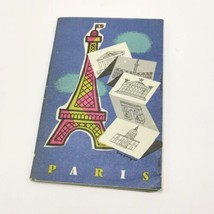 Paris 1957 What You Need to Know When You Get To Paris Tourism Brochure - $84.95