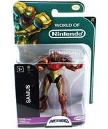 World of Nintendo Metroid Samus action figure by Jakks Pacific  - $19.79