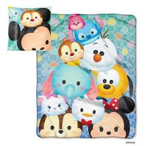 Tsum Tsum Throw Blanket and Pillow Set By Northwest  - $35.99