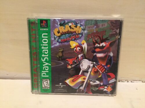 Primary image for Crash Bandicoot 3: Warped  ( Sony PlayStation 1, 1998 )   PS1