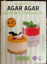 Quality Agar Agar Powder Vegan Gelatin Substitute Desserts Creams Buy From Spain - $8.99