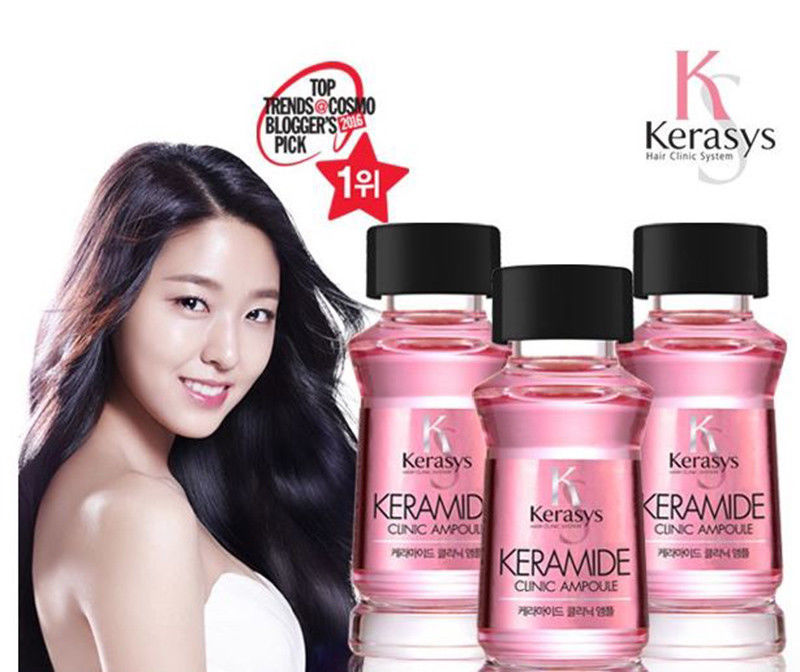 Kerasys Professional Keramide Clinic Ampoule Hair Essence Serum Care 15ml x 3ea