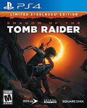 Shadow of the Tomb Raider (Limited Steelbook Edition) - PlayStation 4 [video gam - $33.17