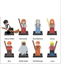 Harry Potter Hemione Ron Weasley Dumbledore Ginny Death Eater Etc Fit Le... - $14.99