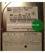 """1.3GB 2.5"""" 12.7MM IDE Drive MK1301MAV Toshiba HDD2712 Tested Good Free U... - $19.55"""