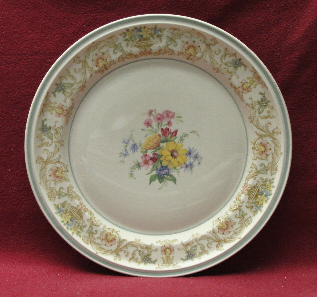 "Primary image for Beautiful ROSENTHAL China - WILDFLOWERS on WINIFRED - 13"" CABINET PLATE/CHARGER"