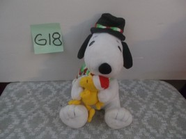 Peanuts Snoopy and Woodstock musical animated Plush - $14.99