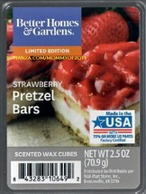 Strawberry Pretzel Bars Better Homes and Gardens Scented Wax Cubes Tarts Melts - $3.75