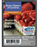 Strawberry Pretzel Bars Better Homes and Gardens Scented Wax Cubes Tarts... - $3.75