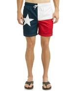 "George Men's Swim Trunks Shorts Size 2XL (44-46) Texas Flag 6"" Inseam - $13.30"