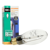 SYLVANIA 100-Watt 2100 K E17 Medium Base (E-26) High-pressure Sodium HID Light B - $12.88