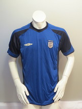 Team England Soccer Jersey - 2004 to 2006 Practice Jersey - Men's Large - $49.00