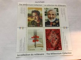 Canada Millenium Writers s/s mnh 2000  stamps - $4.00