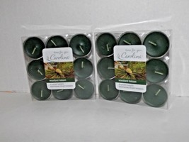 2 Packs Time For You Carolina Scented Tealights Candles Woodland Balsam New (t) - $17.81
