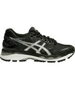 Asics Women's Gel-Nimbus 18 Running Shoes NEW AUTHENTIC Black/Silver T65... - $123.49
