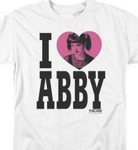 NCIS Drama TV series I Love Abby white cotton graphic t-shirt CBS817 image 3