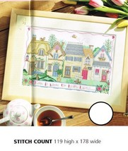 HOME IS WHERE THE HEART  LOVES ..  - CROSS STITCH PATTERN ONLY  ALS - ER - $9.36