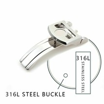 Stainless Steel Watch Clasp Folding Watches Buckle For IWC Series Access... - $41.08