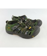 Keen Newport Sandals 4 H2 Camo Canvas Fisherman Youth Big Kids Boys - $28.04