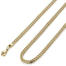 3mm Curb Chain Necklace for Men Stainless Steel Biker, 20' - $37.68