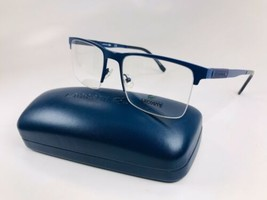 New LACOSTE L2244 424 Matte Blue Eyeglasses 53mm with Case - $74.20