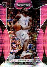 Zion Williamson 2019-20 Panini Prizm Draft Picks Pink Pulsar Rookie Card #1 - $50.00