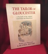 The Tailor of Gloucester by Beatrix Potter - facsimile edn. #778 of 1500 - $132.30