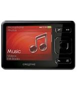 Creative ZEN Black 4 GB MP3 Player with FM Radio Voice Recorder SDHC Mem... - $94.90