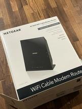 NETGEAR C6250-1AZNAS WiFi Cable AC1600 Modem Router - $47.67