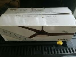 "New Minka Aeroflo 52"" Distressed Koa LED 3 Blade Ceiling Fan w/ Light & ... - $158.94"
