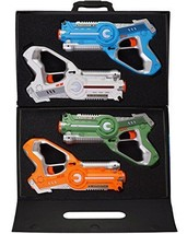 DYNASTY TOYS Laser Tag Set Toys and Carrying Case for Kids Multiplayer 4... - $66.22