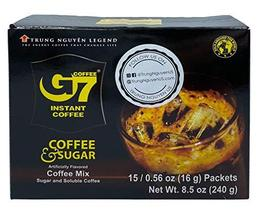 Trung Nguyen - G7 2 In 1 Instant Coffee - 15 Single Serve Sachets | Roas... - $14.84