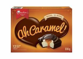 8 Boxes Vachon Ah Caramel! Cake 12 Count 336g Each- 72 Total Cakes -Canada FRESH - $60.54