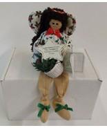 Enesco Lil Gabbers Shelf Sitter Angel Christmas Bean Bag Smallest Wishes... - $12.86