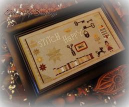 Happy Hour cross stitch chart Tree of Life Samplings - $9.90