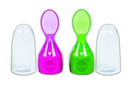 Munchkin Click Lock Food Pouch Spoon Tips - 2 Ea colors may vary - $12.54
