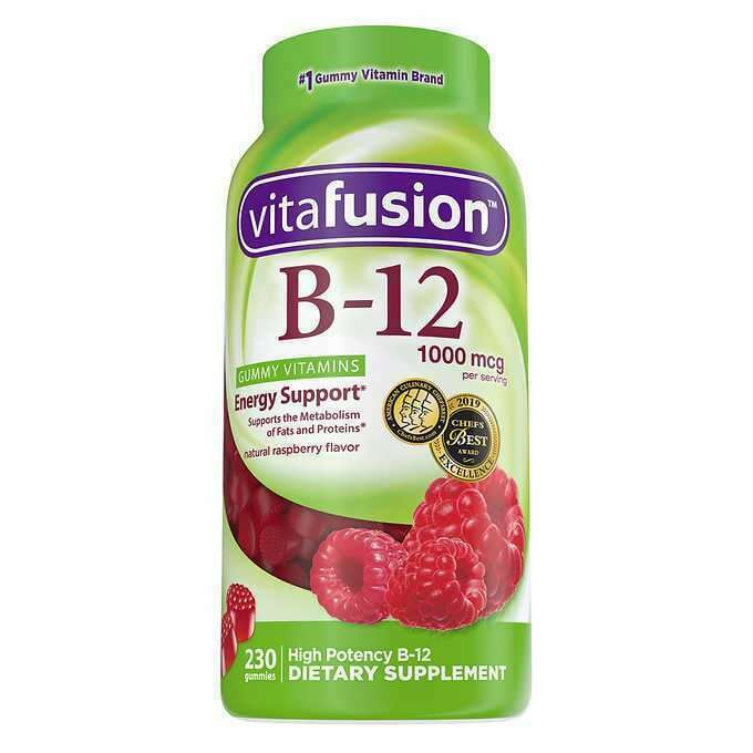 Primary image for NEW vitafusion Vitamin B-12 1000 mcg., 230 Gummies FREE SHIPPING