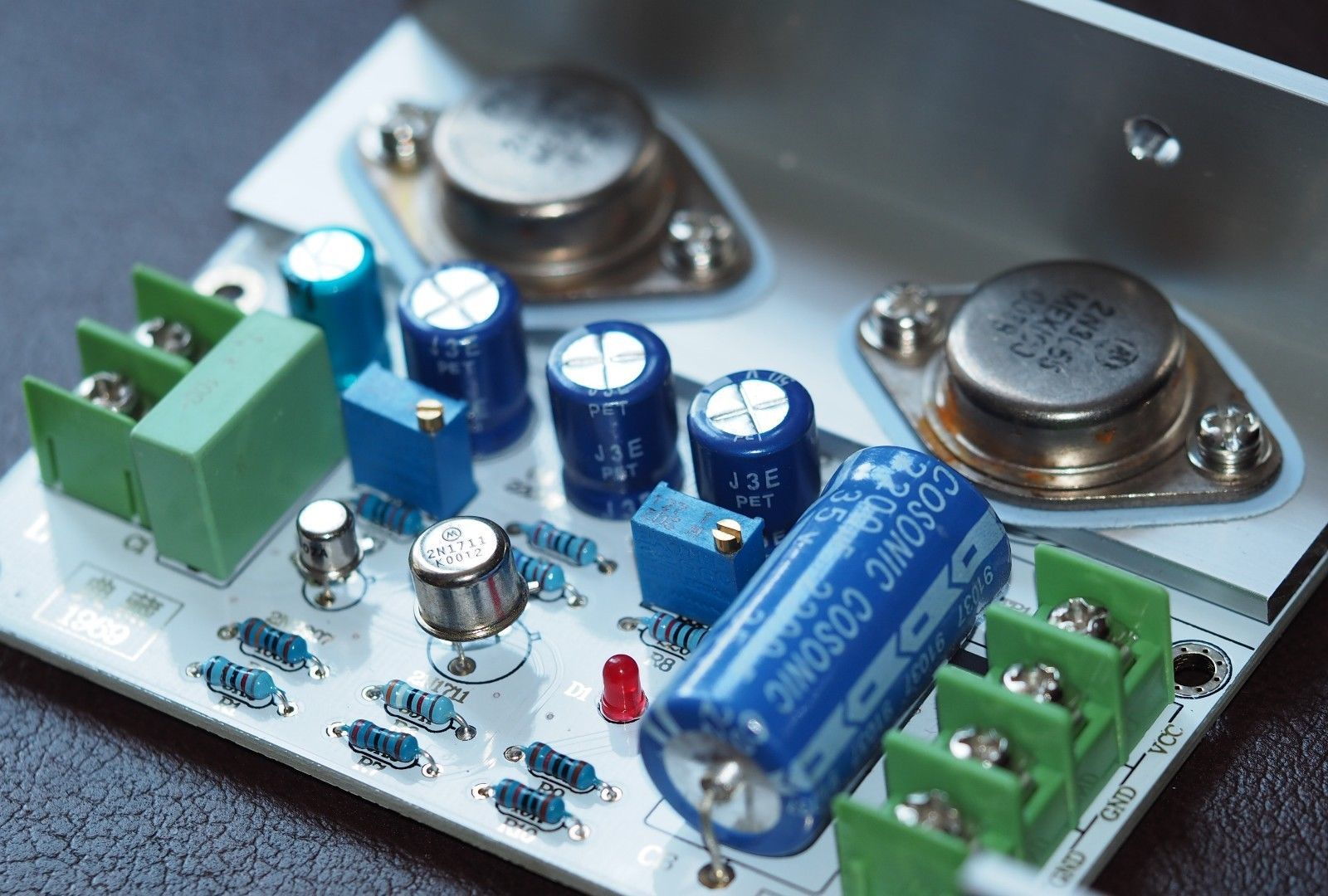 Jlh 1969 Class A Amplifier Stereo High And 50 Similar Items The Classa Site Classab Quality Pcb Components Assembled
