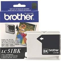 Brother LC51BK Black Original Ink Cartridge - $38.56