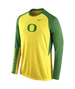 NWT New Oregon Ducks  Nike Dri-Fit On-Court Medium Long Sleeve Shooting Shirt - $44.50