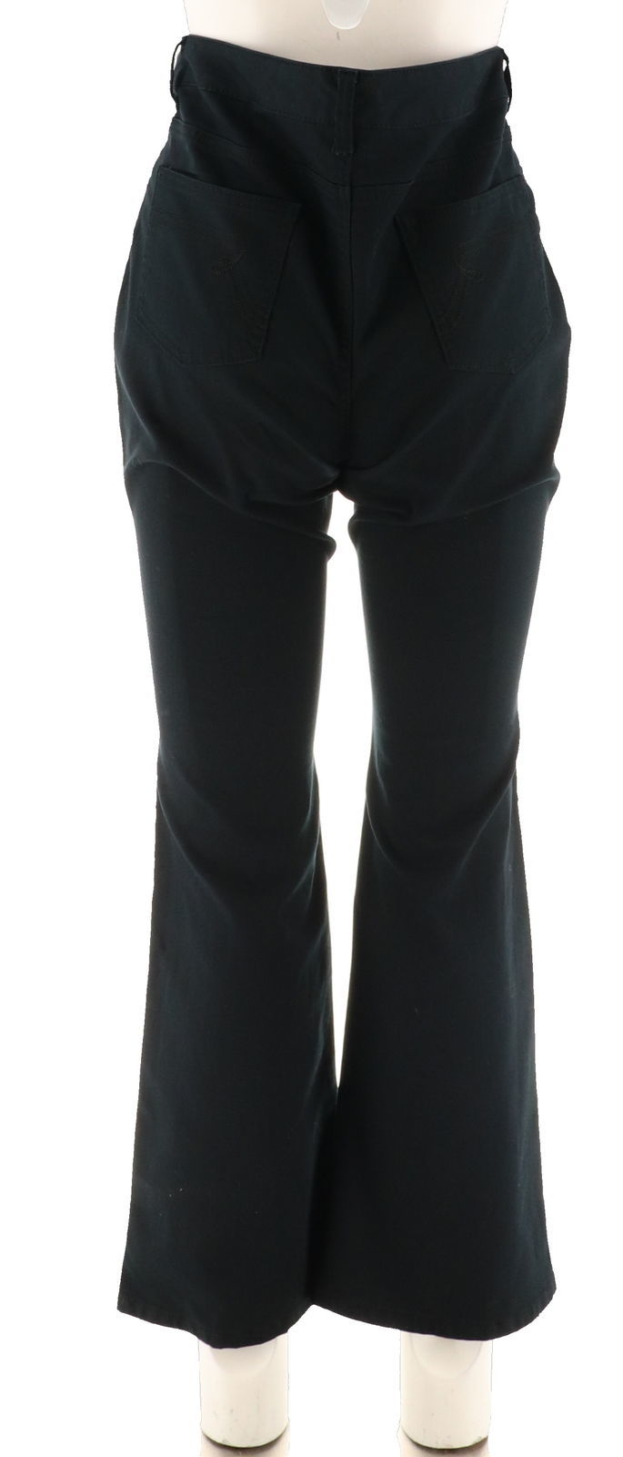 Women with Control My Wonder Denim Twill Boot Cut Jeans Black 2 NEW A294271 image 3